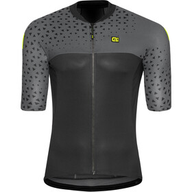 Alé Cycling Solid Climb Jersey korte mouwen Heren, grey-black